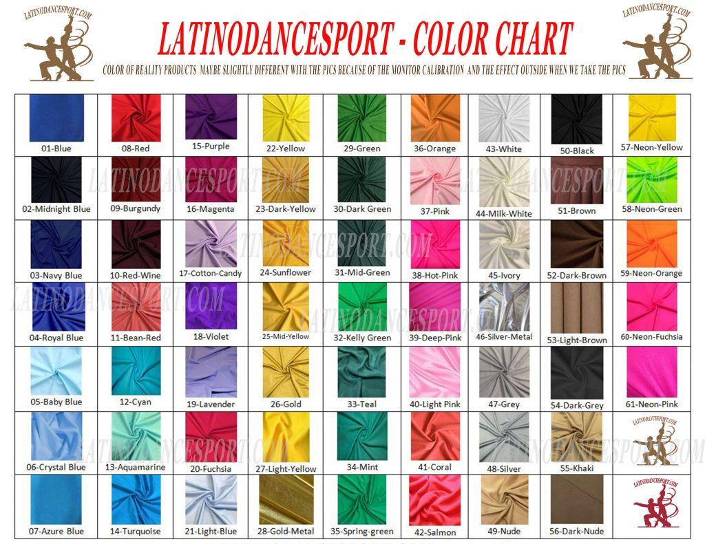 COLOR-latinodancesport.com latino dance sports dress latin smooth standard rhythm