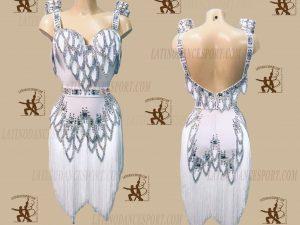 LATINODANCESPORT.COM-Ballroom LATIN RHYTHM Dance Dress-LDS-29