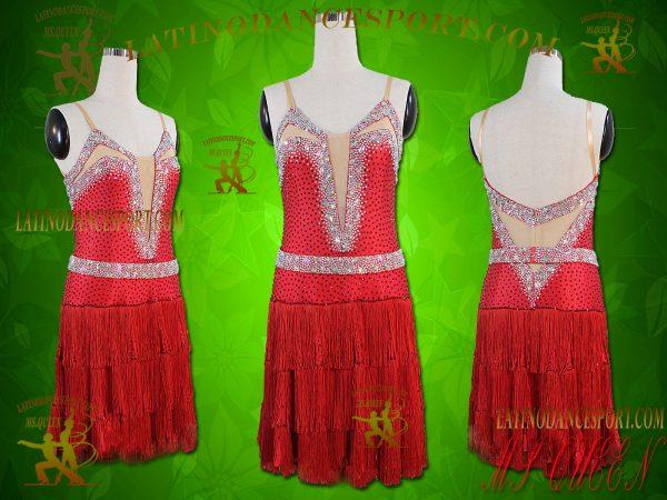 Latinodancesport.com Ballroom latin rhythm Dance Dress-LDS-54