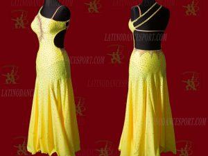 LATINODANCESPORT.COM-Ballroom STANDARD SMOOTH Dance Dress-SDS-18