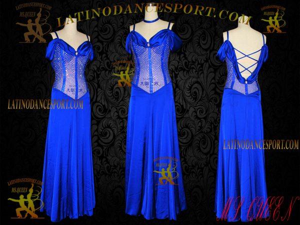 Latinodancesport Ballroom Dance SDS-21 Standard Smooth Dress tailored