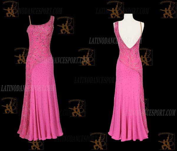 LATINODANCESPORT.COM-Ballroom STANDARD SMOOTH Dance Dress-SDS-24