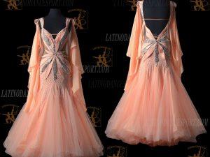 Latinodancesport.com-Ballroom Standard Smooth Dance Dress-SDS-39