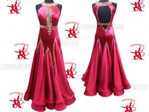 Latinodancesport.com-Ballroom Standard Smooth Dance Dress-SDS-40