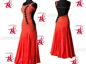 Latinodancesport.com-Ballroom Standard Smooth Dance Dress-SDS-41