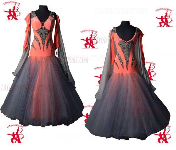 Latinodancesport.com-Ballroom Standard Smooth Dance Dress-SDS-43