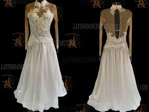 Latinodancesport.com-Ballroom Standard Smooth Dance Dress-SDS-47