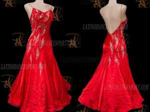 Latinodancesport.com-Ballroom Standard Smooth Dance Dress-SDS-48