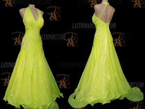 Latinodancesport.com-Ballroom Standard Smooth Dance Dress-SDS-49