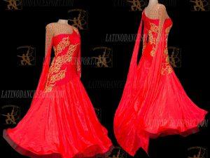 Latinodancesport.com-Ballroom Standard Smooth Dance Dress-SDS-51