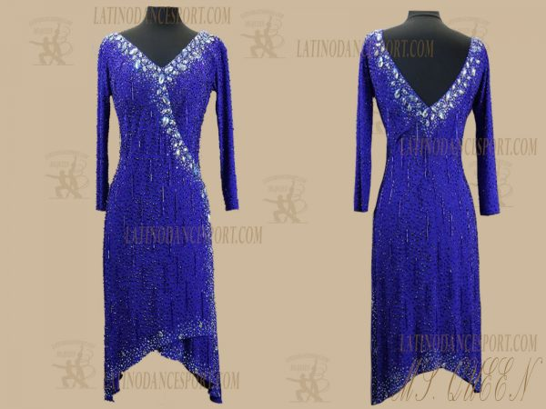 LDS-93-Ballroom Dance Costumes Latin Dress For Competition
