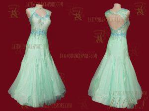 Latinodancesport.com-Ballroom Standard Smooth Dance Dress-SDS-54