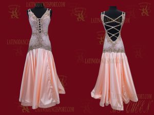 Latinodancesport.com-Ballroom Standard Smooth Dance Dress-SDS-56