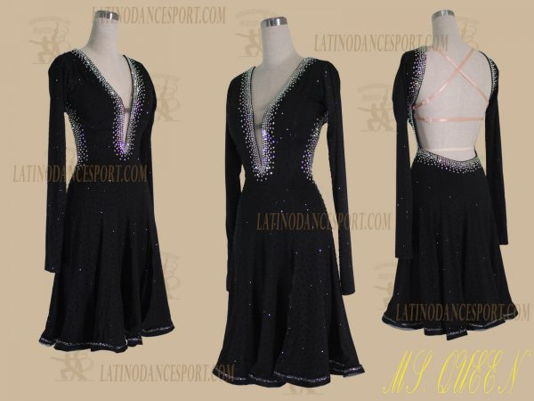 LDS-95-Ballroom Dance Costumes Latin Dress For Competition
