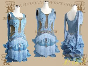 LDS-31-Ballroom Dance Costumes Latin Dress For Competition