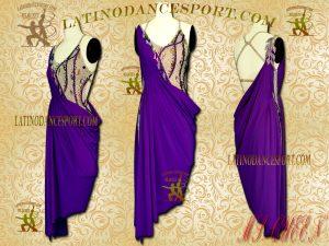 Latinodancesport Ballroom Dance LDS-05 Latin Dress Tailored