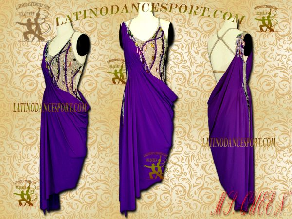 Latinodancesport Ballroom Dance LDS-05 Latin Dress Tailored