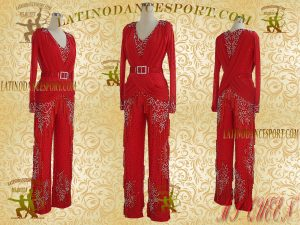 Latinodancesport Ballroom Dance LDS-Q100 Latin Jumpsuit/Catsuit Tailored
