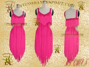 Latinodancesport Ballroom Dance LDS-09A Latin Dress Tailored Without Stones