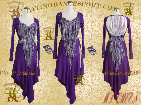 Latinodancesport Ballroom Dance LDS-16 Latin Dress Tailored