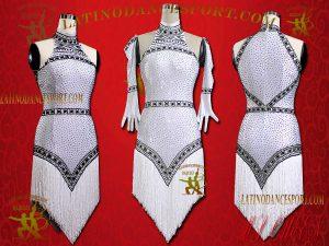 Latinodancesport Ballroom Dance LDS-53A Latin Dress Tailored