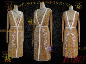 Latinodancesport Ballroom Dance LDS-41 Latin Dress Tailored
