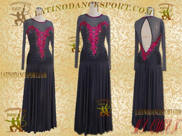 Latinodancesport Ballroom Dance SDS-02 Standard/Smooth Dress Tailored Competition