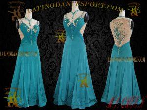 Latinodancesport Ballroom Dance SDS-05 Standard/Smooth Dress Tailored Competition