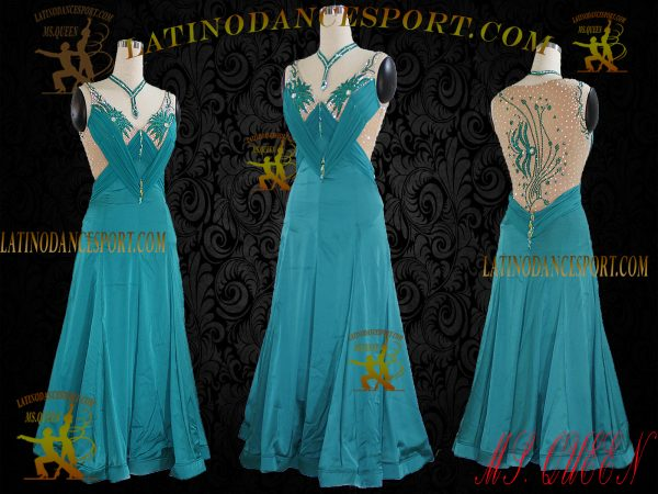 Latinodancesport Ballroom Dance SDS-05 Standard/Smooth Dress Tailored Competition