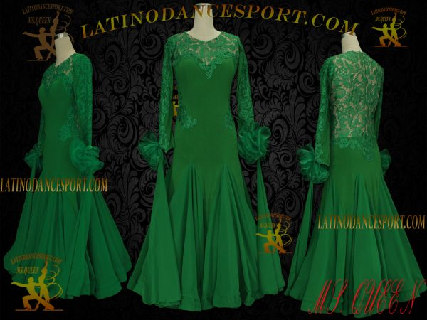 Latinodancesport Ballroom Dance SDS-23x Standard/Smooth Dress Tailored Without Stone
