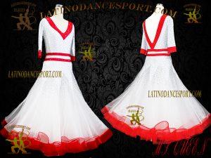 Latinodancesport Ballroom Dance SDS-32 Standard/Smooth Dress Tailored Competition