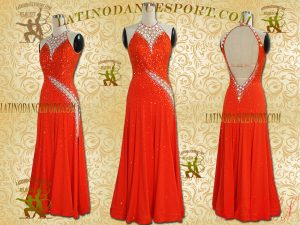 Latinodancesport Ballroom Dance SDS-36A Standard/Smooth Dress Tailored Competition