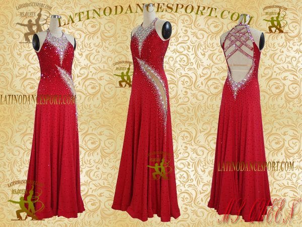 Latinodancesport Ballroom Dance SDS-36B Standard/Smooth Dress Tailored Competition