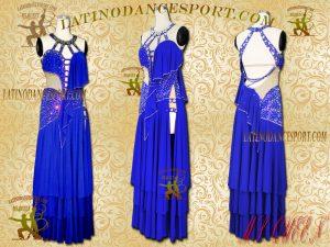 Latinodancesport Ballroom Dance SDS-65 Standard/Smooth Dress Tailored Competition