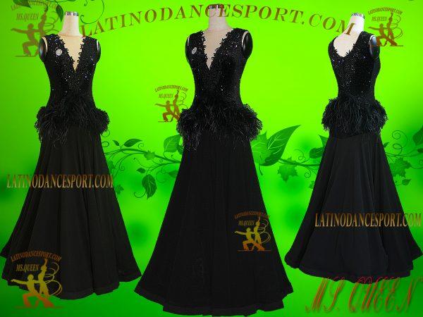 Latinodancesport Ballroom Dance SDS-67 Standard/Smooth Dress Tailored Competition
