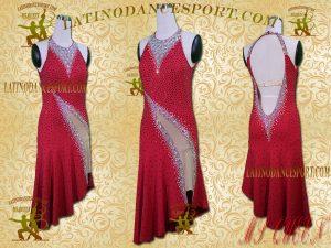 Latinodancesport Ballroom Dance LDS-102 Latin Dress Tailored