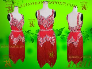 Latinodancesport Ballroom Dance LDS-29B Latin Dress Tailored