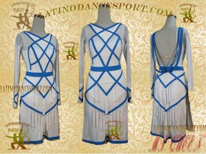 Latinodancesport Ballroom Dance LDS -24B Latin Dress Tailored