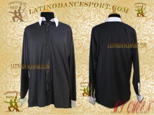 Latinodancesport Ballroom Dance Menswear Shirt Tailored MDS-12