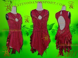 Latinodancesport Ballroom Dance LDS-38 Latin Dress Tailored