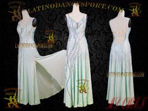 Latinodancesport Ballroom Dance SDS-58A Standard/Smooth Dress Tailored Competition