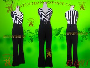 Latinodancesport Ballroom Dance LDS-Q107 Latin Jumpsuit/Catsuit Tailored