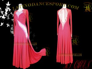Latinodancesport Ballroom Dance SDS-72 Standard/Smooth Dress Tailored Competition