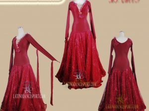 Latinodancesport Ballroom Dance SDS-74 Standard/Smooth Elegant Dress Tailored Competition