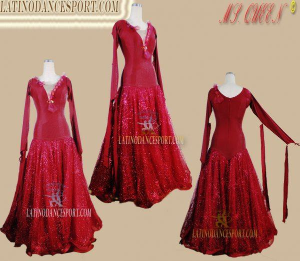 Latinodancesport Ballroom Dance SDS-74 Standard/Smooth Elegant Dress Tailored Competition