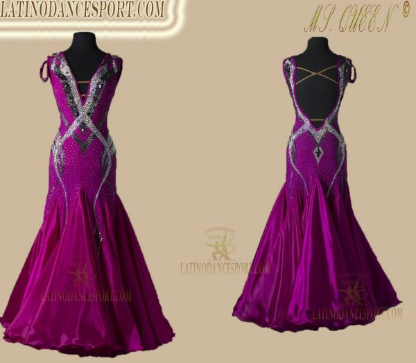 Latinodancesport Ballroom Dance SDS-75 Standard/Smooth Elegant Dress Tailored Competition