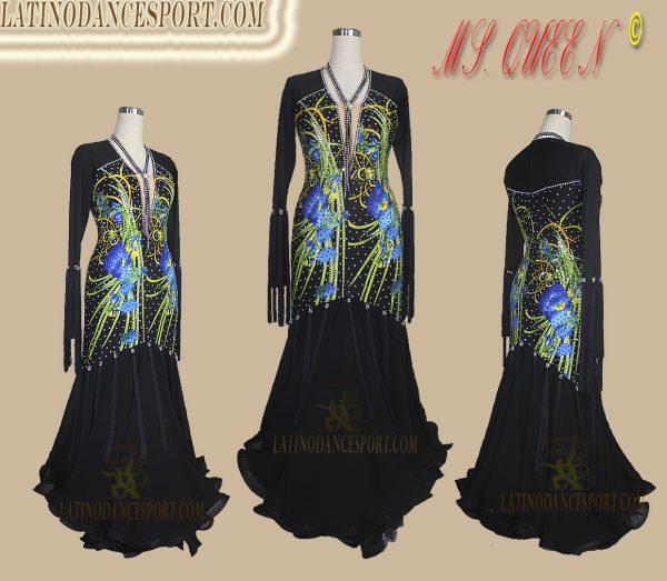 Latinodancesport Ballroom Dance SDS-82Standard/Smooth Dress Tailored Competition