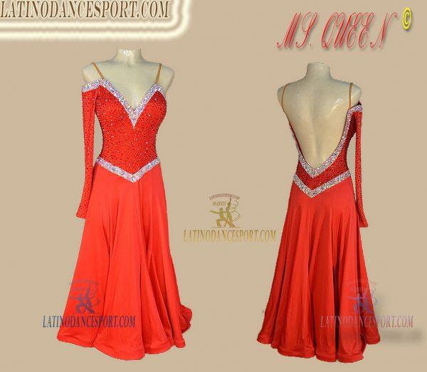 Latinodancesport Ballroom Dance SDS-87 Standard/Smooth Dress Tailored Competition