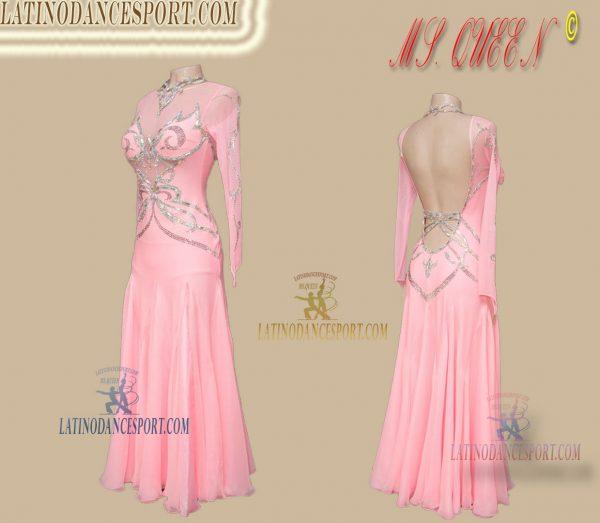 SDS-88 Latinodancesport Ballroom Dance Standard/Smooth long Dress Tailored Competition